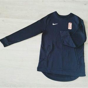 Nike WNBA Black Sweater Medium